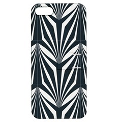 Art Deco, Black,white,graphic Design,vintage,elegant,chic Apple Iphone 5 Hardshell Case With Stand by 8fugoso