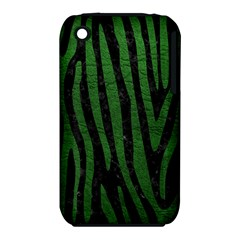Skin4 Black Marble & Green Leather (r) Iphone 3s/3gs by trendistuff