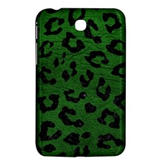 Skin5 Black Marble & Green Leather Samsung Galaxy Tab 3 (7 ) P3200 Hardshell Case  by trendistuff