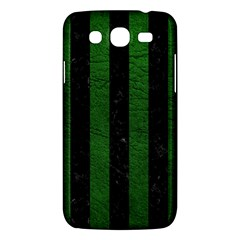 Stripes1 Black Marble & Green Leather Samsung Galaxy Mega 5 8 I9152 Hardshell Case  by trendistuff