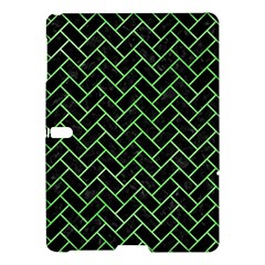 Brick2 Black Marble & Green Watercolor Samsung Galaxy Tab S (10 5 ) Hardshell Case  by trendistuff