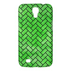 Brick2 Black Marble & Green Watercolor (r) Samsung Galaxy Mega 6 3  I9200 Hardshell Case by trendistuff