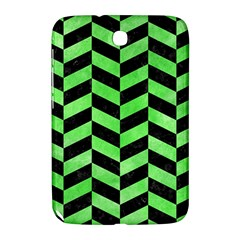 Chevron1 Black Marble & Green Watercolor Samsung Galaxy Note 8 0 N5100 Hardshell Case  by trendistuff