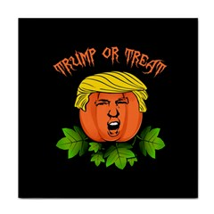Trump Or Treat  Tile Coasters by Valentinaart
