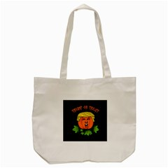 Trump Or Treat  Tote Bag (cream) by Valentinaart