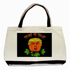 Trump Or Treat  Basic Tote Bag by Valentinaart