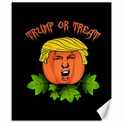 Trump Or Treat  Canvas 8  X 10  by Valentinaart