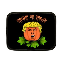 Trump Or Treat  Netbook Case (small)  by Valentinaart