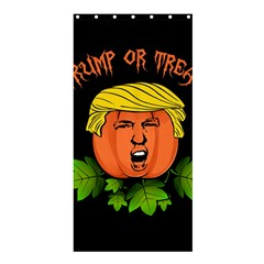 Trump Or Treat  Shower Curtain 36  X 72  (stall)  by Valentinaart