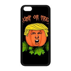 Trump Or Treat  Apple Iphone 5c Seamless Case (black) by Valentinaart