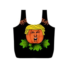 Trump Or Treat  Full Print Recycle Bags (s)  by Valentinaart