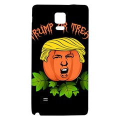 Trump Or Treat  Galaxy Note 4 Back Case by Valentinaart