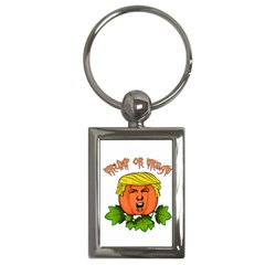 Trump Or Treat  Key Chains (rectangle)  by Valentinaart