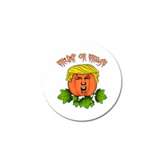 Trump Or Treat  Golf Ball Marker (10 Pack) by Valentinaart