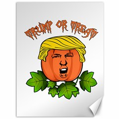 Trump Or Treat  Canvas 36  X 48   by Valentinaart