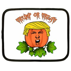 Trump Or Treat  Netbook Case (large) by Valentinaart