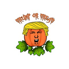 Trump Or Treat  Shower Curtain 48  X 72  (small)  by Valentinaart