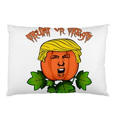Trump Or Treat  Pillow Case (two Sides)
