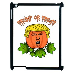 Trump Or Treat  Apple Ipad 2 Case (black) by Valentinaart