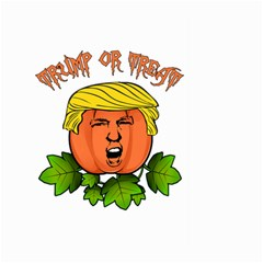 Trump Or Treat  Large Garden Flag (two Sides)