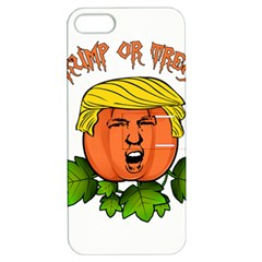 Trump Or Treat  Apple Iphone 5 Hardshell Case With Stand by Valentinaart