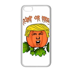 Trump Or Treat  Apple Iphone 5c Seamless Case (white) by Valentinaart