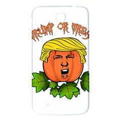 Trump Or Treat  Samsung Galaxy Mega I9200 Hardshell Back Case by Valentinaart