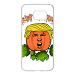 Trump or treat  Samsung Galaxy S7 edge White Seamless Case Front