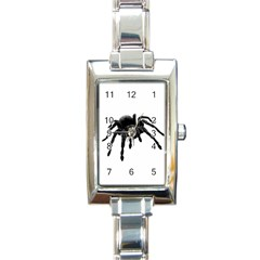 Tarantula Rectangle Italian Charm Watch by Valentinaart