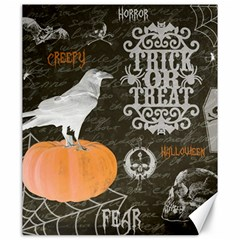 Vintage Halloween Canvas 20  X 24   by Valentinaart