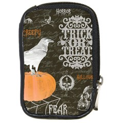 Vintage Halloween Compact Camera Cases by Valentinaart