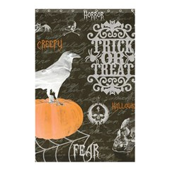 Vintage Halloween Shower Curtain 48  X 72  (small)  by Valentinaart