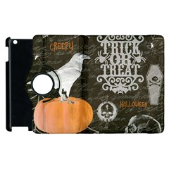 Vintage Halloween Apple Ipad 3/4 Flip 360 Case by Valentinaart
