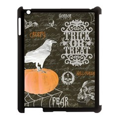 Vintage Halloween Apple Ipad 3/4 Case (black)