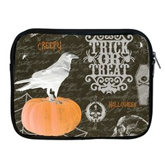 Vintage Halloween Apple Ipad 2/3/4 Zipper Cases by Valentinaart