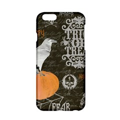 Vintage Halloween Apple Iphone 6/6s Hardshell Case by Valentinaart