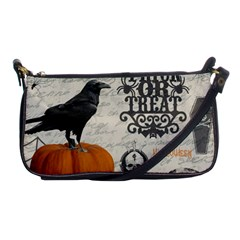 Vintage Halloween Shoulder Clutch Bags by Valentinaart