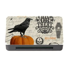 Vintage Halloween Memory Card Reader With Cf by Valentinaart
