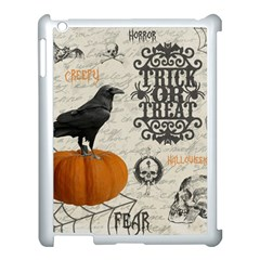 Vintage Halloween Apple Ipad 3/4 Case (white) by Valentinaart