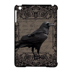 Vintage Halloween Raven Apple Ipad Mini Hardshell Case (compatible With Smart Cover) by Valentinaart