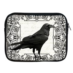 Vintage Halloween Raven Apple Ipad 2/3/4 Zipper Cases by Valentinaart