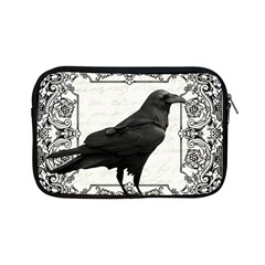 Vintage Halloween Raven Apple Ipad Mini Zipper Cases by Valentinaart