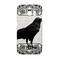 Vintage Halloween Raven Galaxy S6 Edge by Valentinaart