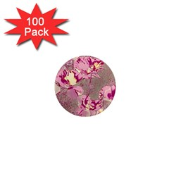 Amazing Glowing Flowers 2b 1  Mini Magnets (100 Pack)  by MoreColorsinLife