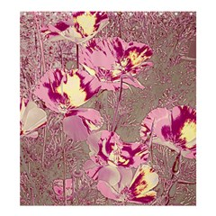 Amazing Glowing Flowers 2b Shower Curtain 66  X 72  (large)  by MoreColorsinLife