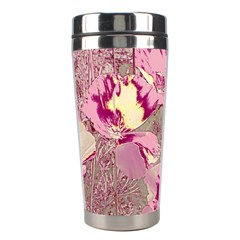 Amazing Glowing Flowers 2b Stainless Steel Travel Tumblers by MoreColorsinLife
