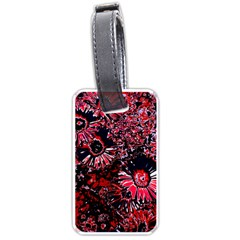 Amazing Glowing Flowers C Luggage Tags (two Sides) by MoreColorsinLife