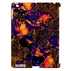 Amazing Glowing Flowers 2a Apple Ipad 3/4 Hardshell Case (compatible With Smart Cover) by MoreColorsinLife