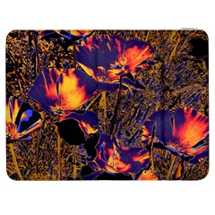Amazing Glowing Flowers 2a Samsung Galaxy Tab 7  P1000 Flip Case by MoreColorsinLife