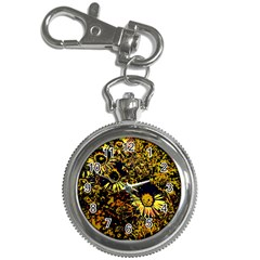 Amazing Neon Flowers B Key Chain Watches by MoreColorsinLife
